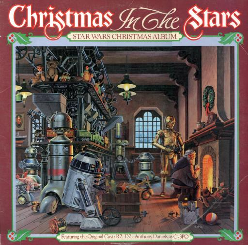 Droids + Wookies = Christmas