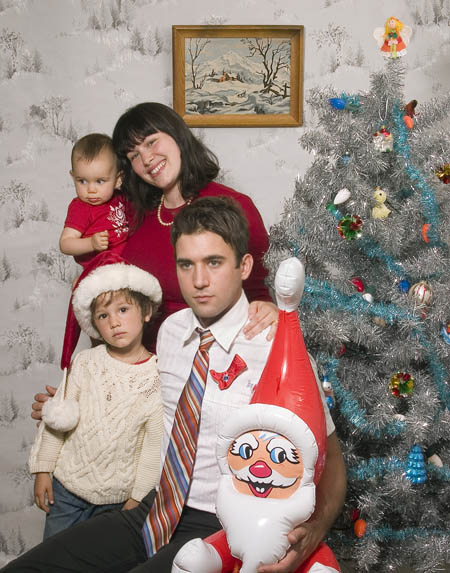 Merry Christmas from Sufjan Stevens and Some Random People He Met On the Street and Asked to Pose as His Family, or Something Like That!!