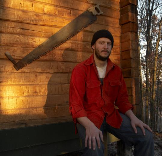 "every you say the words ""Bon Iver,"" you are legally required to mention the cabin in which his first LP was recorded."