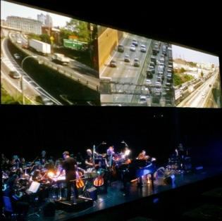 Sufjan performing the BQE suite at the Howard Gilman Opera House in Brooklyn, November 1, 2007
